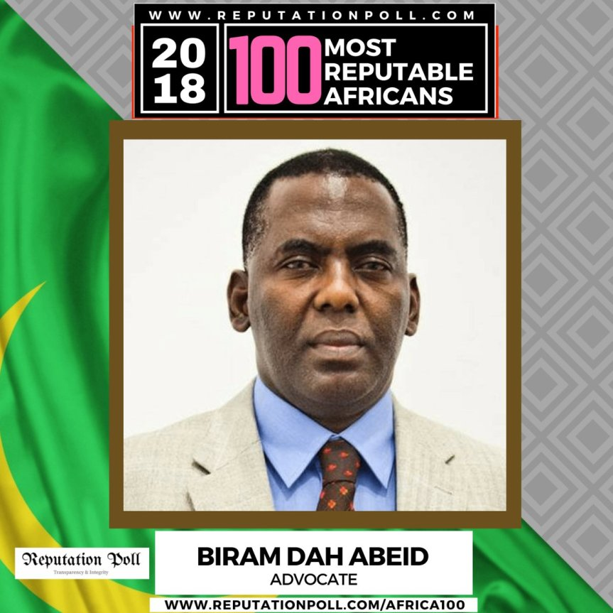 Biram Dah Abeid | Reputable Africans