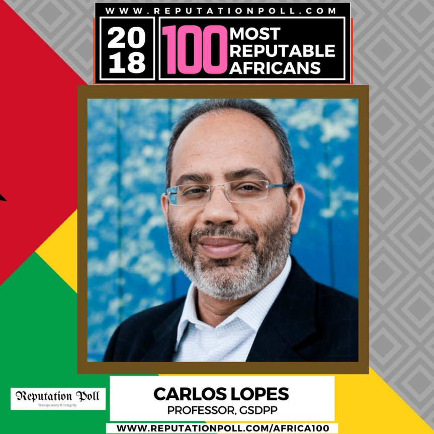 Economist, Author, Educator & Civil Servant | Dr Carlos Lopes