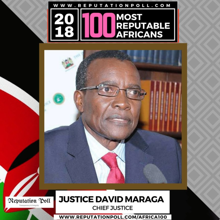 The judge who made African history | Chief Justice David Maraga
